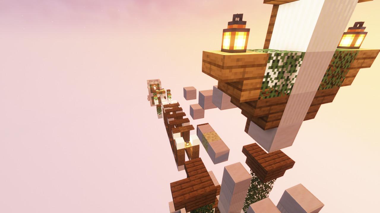 Custom Minecraft Parkour Server, World Parkour Maker, Level: Gautlet 1
