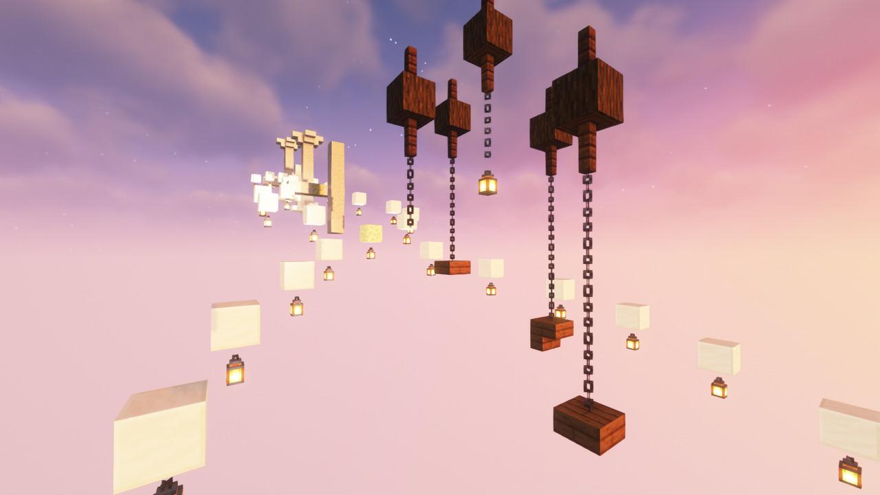 Custom Minecraft Parkour Server, World Parkour Maker, Level: Ascension