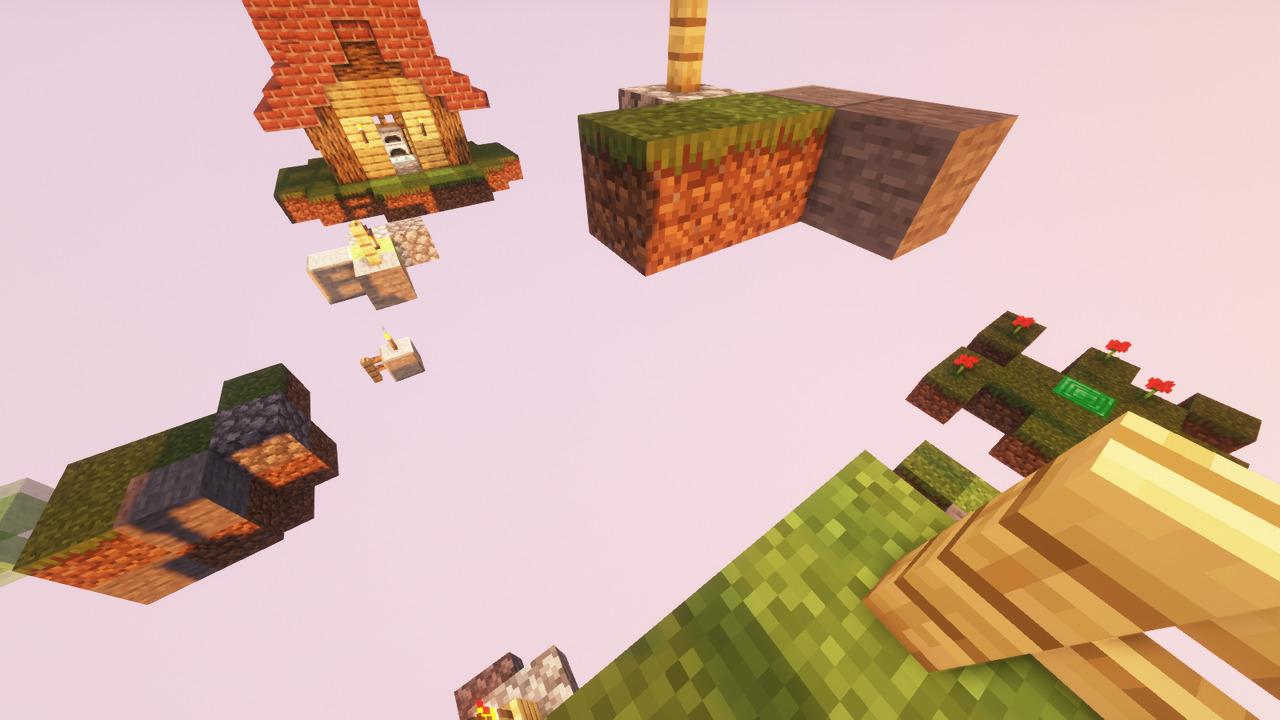 Custom Minecraft Parkour Server, World Parkour Maker, Level: Road to Grannys