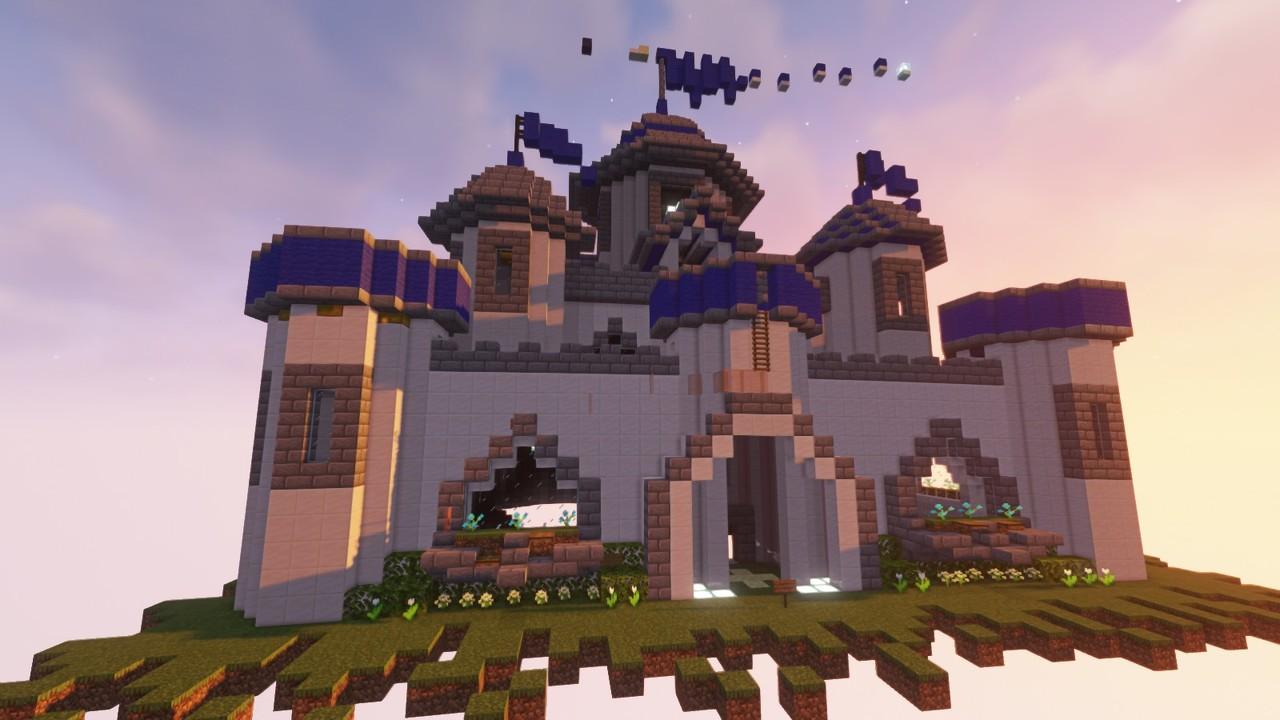Custom Minecraft Parkour Server, World Parkour Maker, Level: Castle of BN Fix