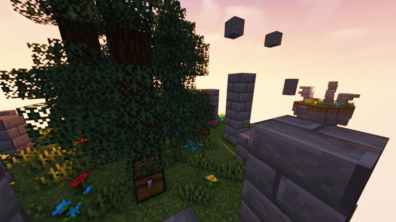 Custom Minecraft Parkour Server, World Parkour Maker, Level: Skywars