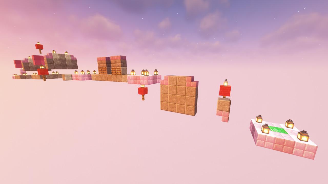 Custom Minecraft Parkour Server, World Parkour Maker, Level: P and A