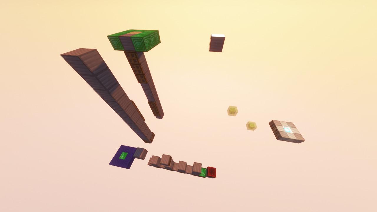 Custom Minecraft Parkour Server, World Parkour Maker, Level: Parkour DIe