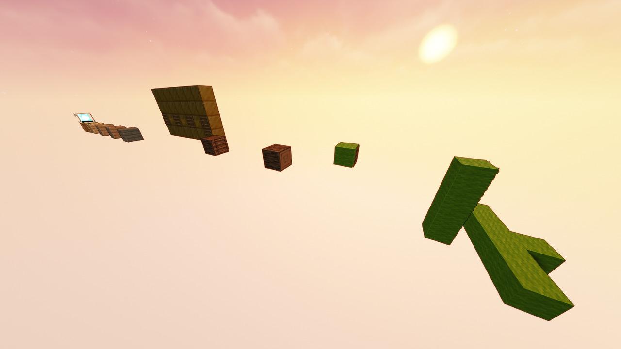 Custom Minecraft Parkour Server, World Parkour Maker, Level: tHESOLOKING SMP