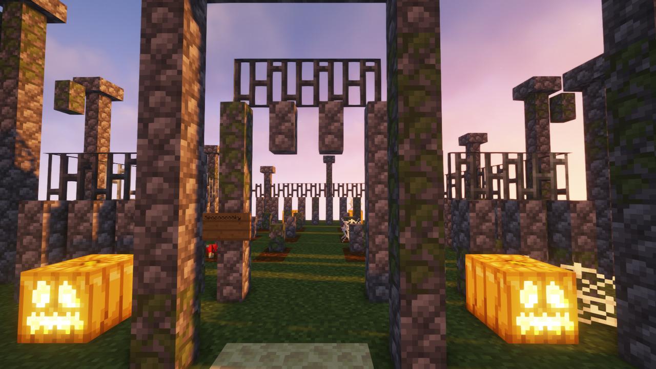Custom Minecraft Parkour Server, World Parkour Maker, Level: Islands of Spook