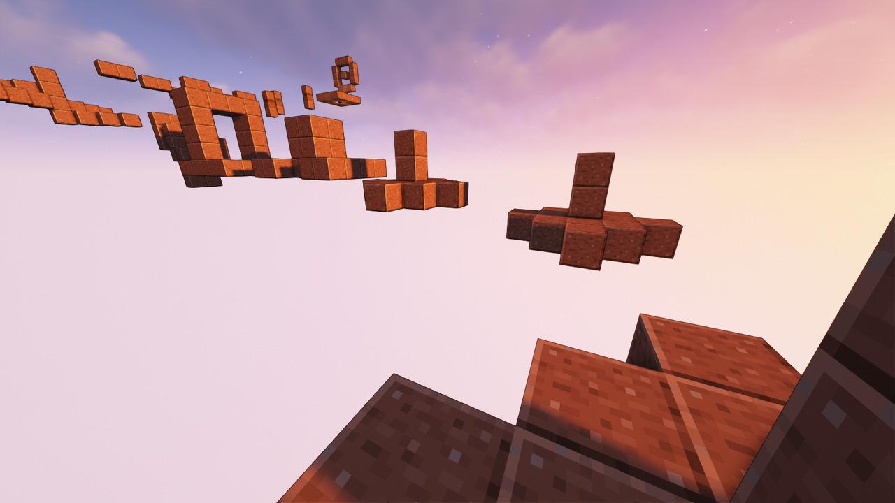 Custom Minecraft Parkour Server, World Parkour Maker, Level: Unnamed