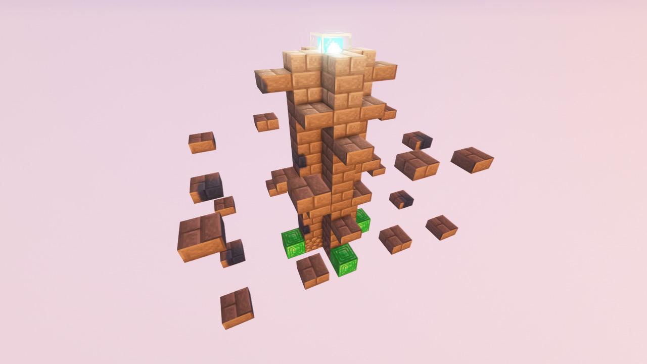 Custom Minecraft Parkour Server, World Parkour Maker, Level: Stone Parkour