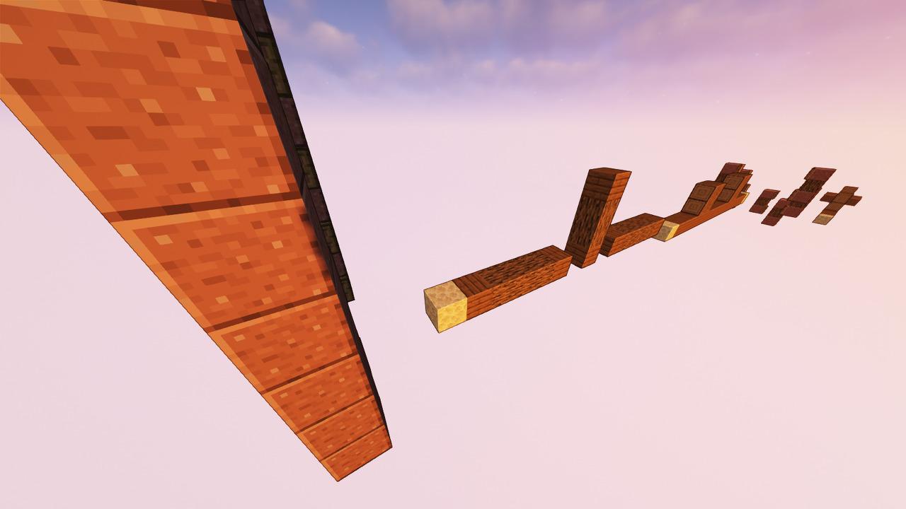 Custom Minecraft Parkour Server, World Parkour Maker, Level: Long Gountlet 4