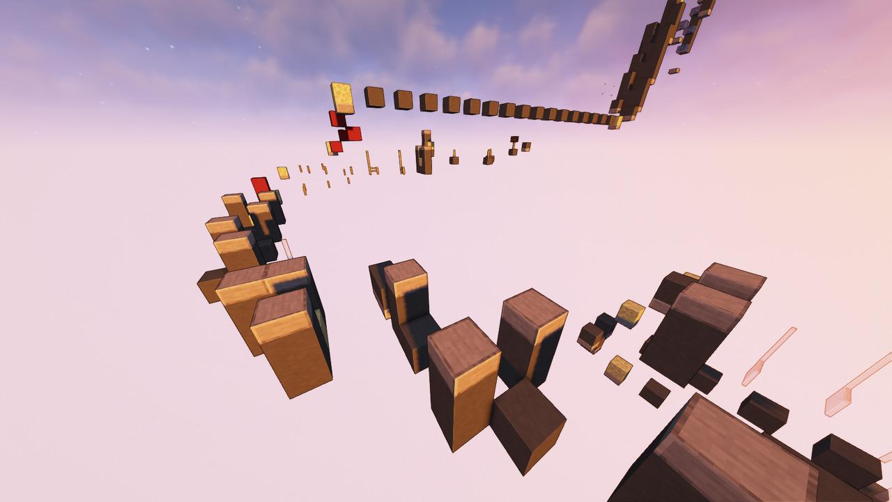 Custom Minecraft Parkour Server, World Parkour Maker, Level: Filtro