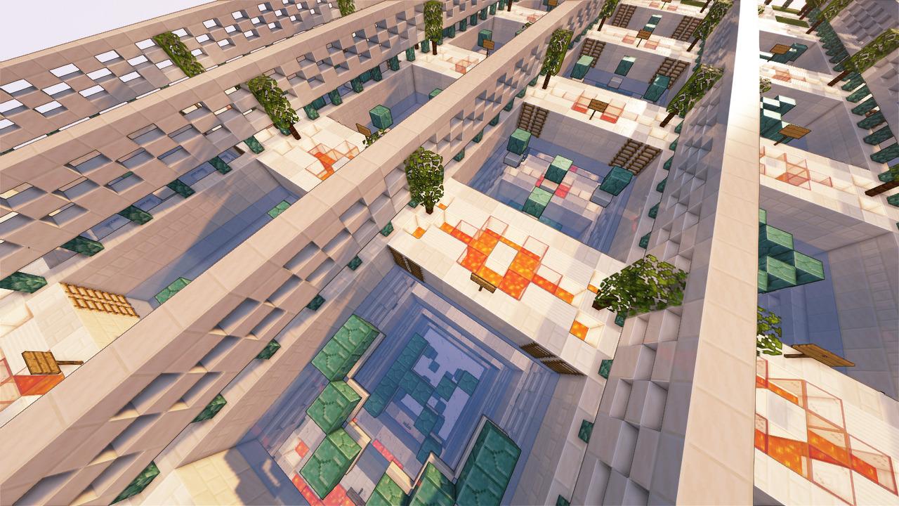 Custom Minecraft Parkour Server, World Parkour Maker, Level: Quartz 100