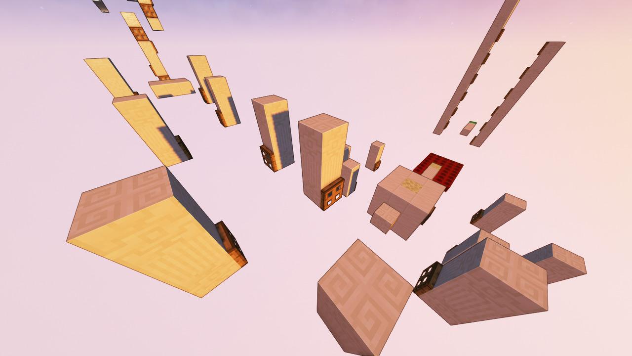 Custom Minecraft Parkour Server, World Parkour Maker, Level: Speedrun Gauntle