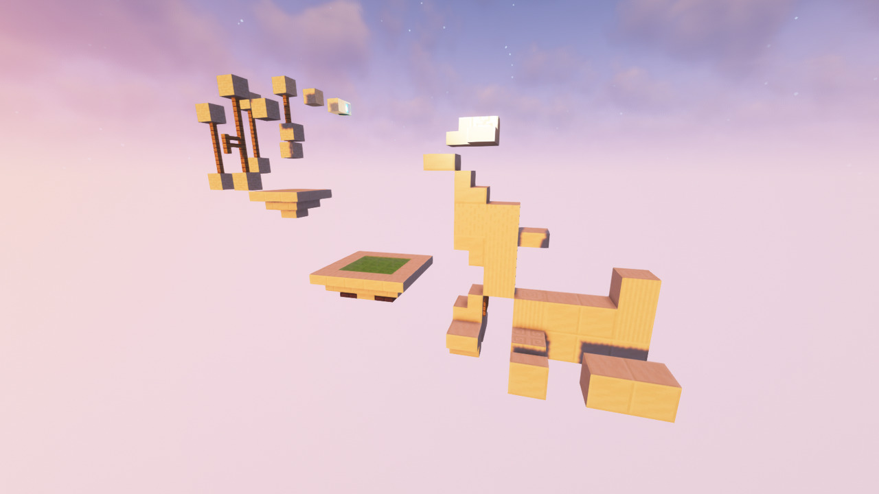 Custom Minecraft Parkour Server, World Parkour Maker, Level: Quartxz 2