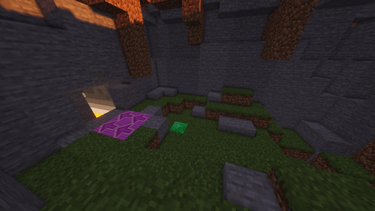 Custom Minecraft Parkour Server, World Parkour Maker, Level: Cave Parkour