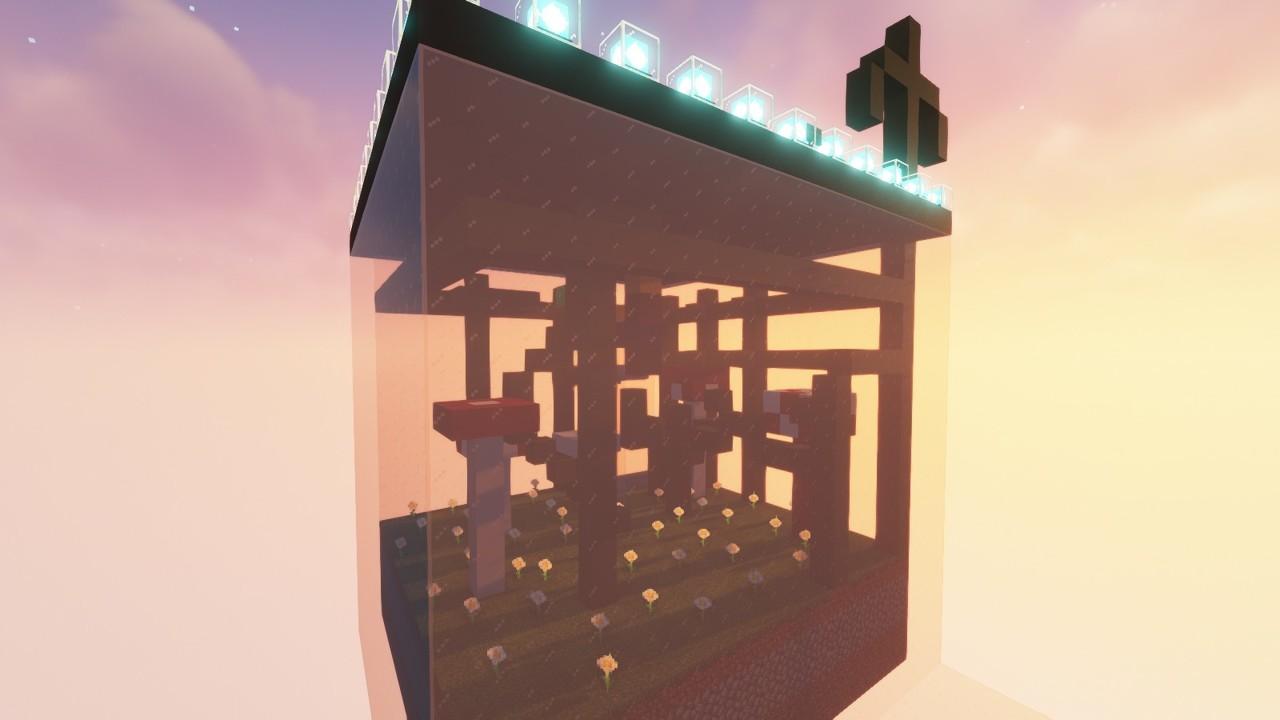 Custom Minecraft Parkour Server, World Parkour Maker, Level: Giant Terrarium