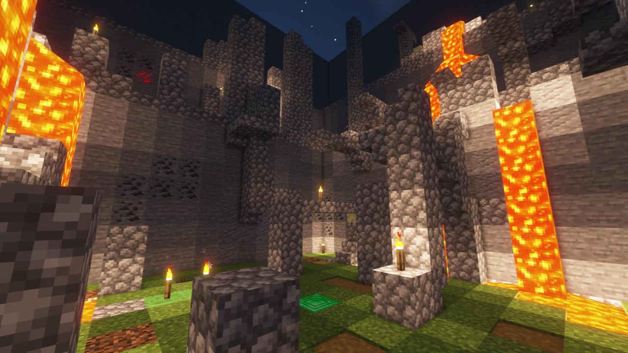 Custom Minecraft Parkour Server, World Parkour Maker, Level: The Climb
