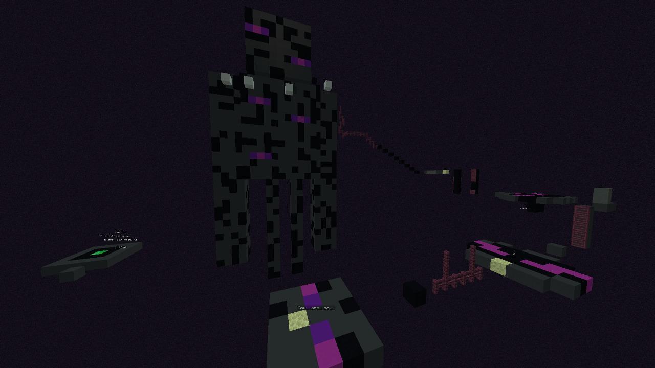Custom Minecraft Parkour Server, World Parkour Maker, Level: End Wilds v1