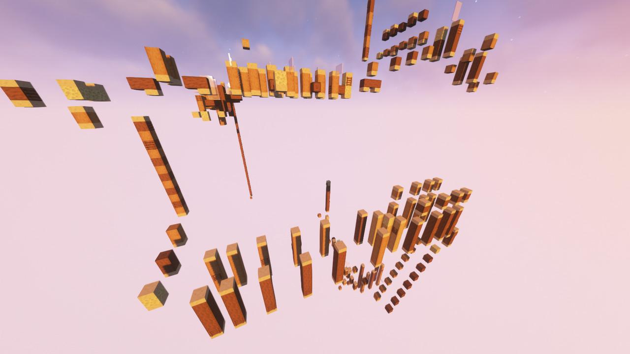 Custom Minecraft Parkour Server, World Parkour Maker, Level: Scale